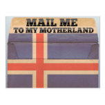 Mail me to Iceland Post Cards