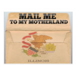 Mail me to Illinois Post Cards
