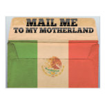 Mail me to Mexico Post Cards