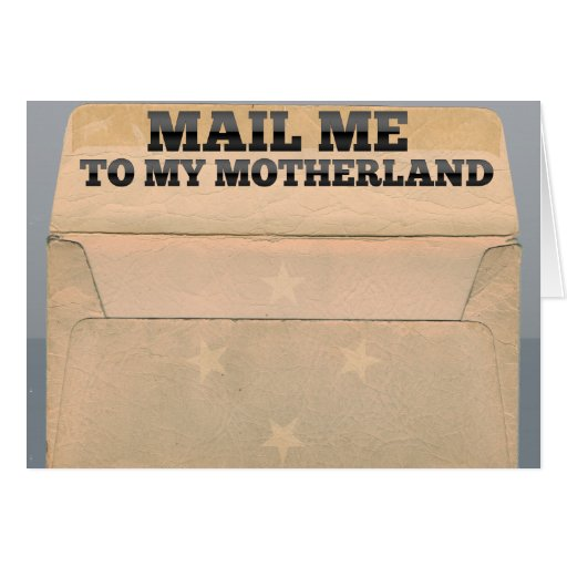 Mail me to Micronesia Stationery Note Card