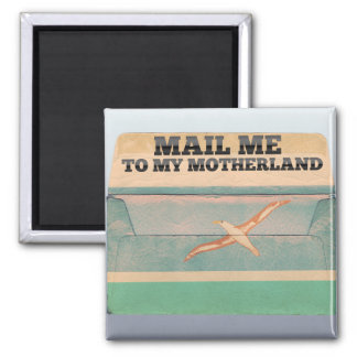 Mail me to Midway Islands Magnet