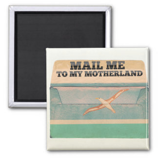 Mail me to Midway Islands Refrigerator Magnets