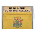 Mail me to New Jersey Greeting Cards