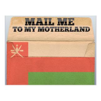 Mail me to Oman Postcard