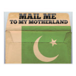 Mail me to Pakistan Post Card