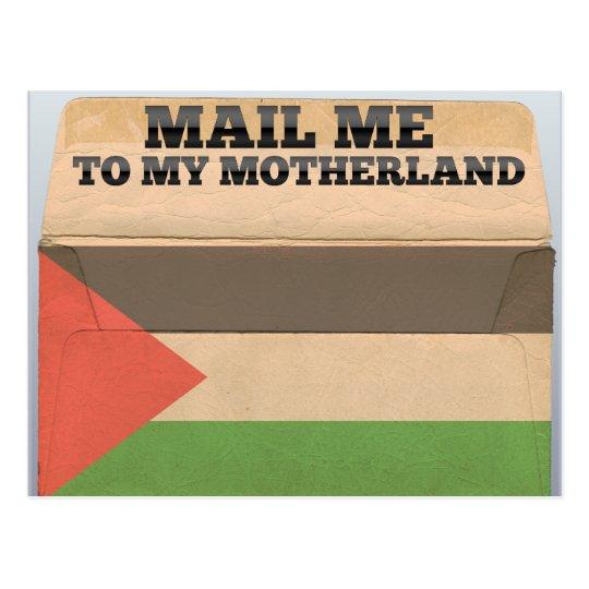 Mail me to Palestine Postcard