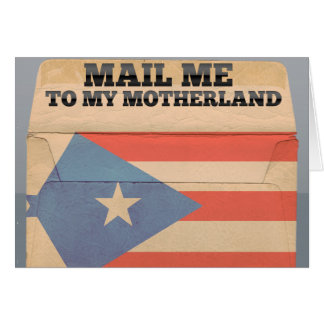 Mail me to Puerto Rico Card