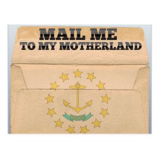 Mail me to Rhode Island Postcard