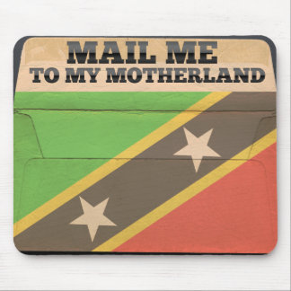 Mail me to Saint Kitts And Nevis Mouse Pad