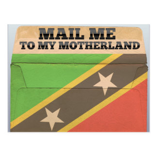 Mail me to Saint Kitts And Nevis Postcard