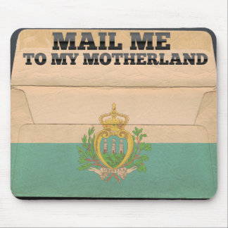 Mail me to San Marino Mouse Pad