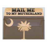 Mail me to South Carolina Postcard