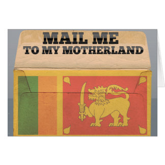 Mail me to Sri Lanka Card
