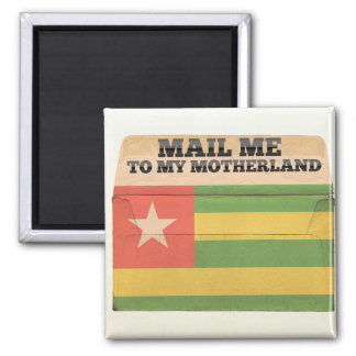 Mail me to Togo Fridge Magnets