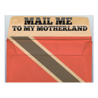 Mail me to Trinidad And Tobago Postcard