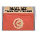 Mail me to Tunisia Greeting Card