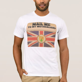 Mail me to Turks And Caicos Islands T-Shirt
