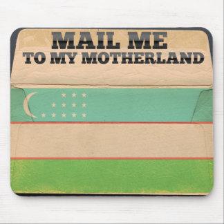 Mail me to Uzbekistan Mouse Pad