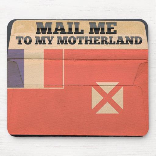 Mail me to Wallis And Futuna Mouse Pad