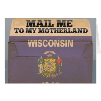 Mail me to Wisconsin Card