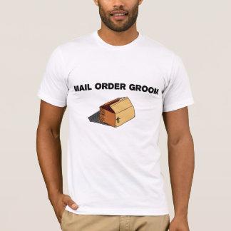 Mail Order Groom Drawn Package Tee