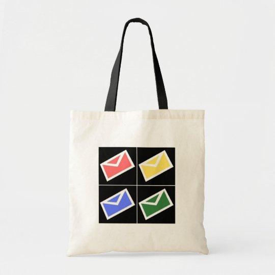Mail Pop Art Tote Bag