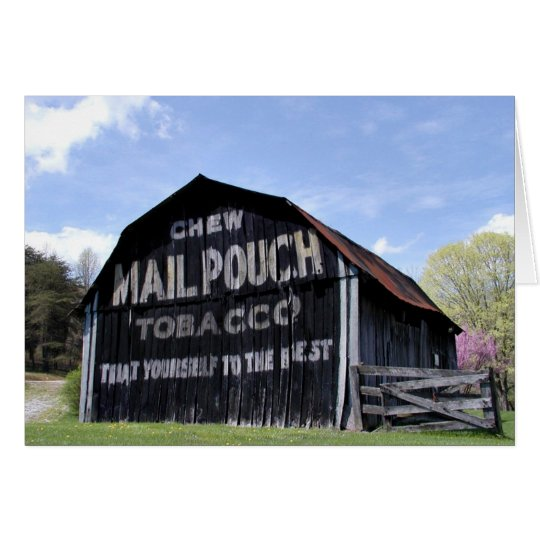 Mail Pouch Barn Card