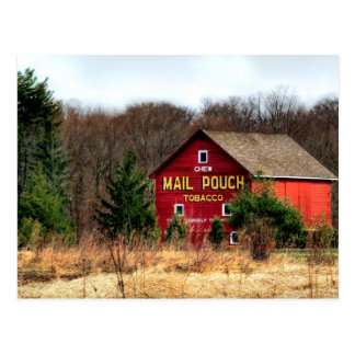 Mail Pouch Barn Postcard