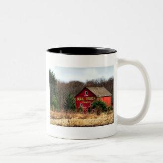 Mail Pouch Barn Two-Tone Coffee Mug