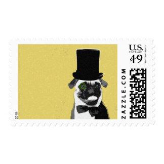 Mail pug stamp