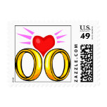Mail Save The Date Postage Stamp