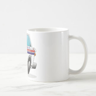 Mail Truck CALIFORNIA Coffee Mug