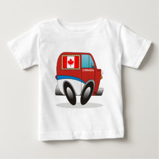 Mail Truck Canada Baby T-Shirt