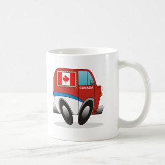 Mail Truck Canada Classic White Coffee Mug