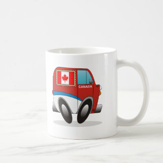 Mail Truck Canada Coffee Mug