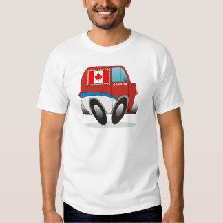 Mail Truck Canada T-shirt
