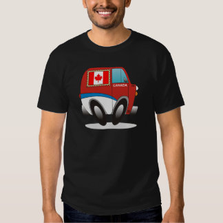 Mail Truck Canada T-shirt
