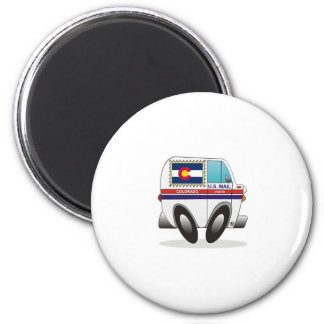 Mail Truck COLORADO Magnet
