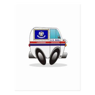 Mail Truck LOUISIANA Post Cards