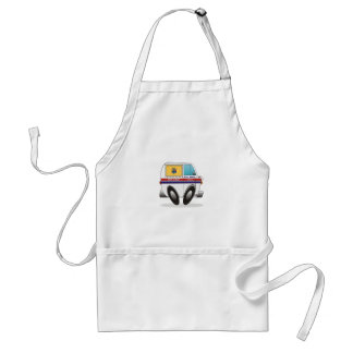 Mail Truck NEW JERSEY Adult Apron