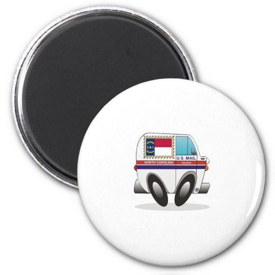 Mail Truck NORTN CAROLINA Magnet