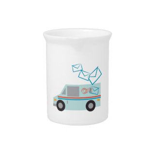 Mail Truck Pitchers