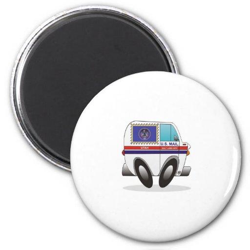 Mail Truck UTAH Magnets