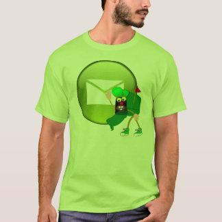 Mail Web Button T-Shirt
