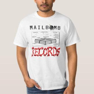 Mailbomb Records Bomb Depiction T-Shirt