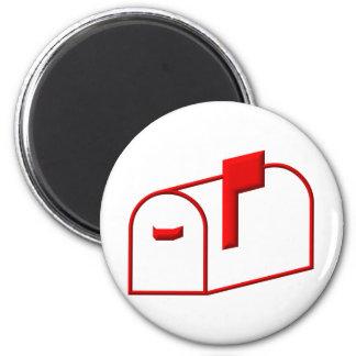 Mailbox 2 Inch Round Magnet