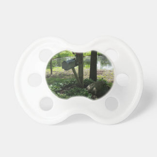 Mailbox by the pond pacifier