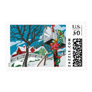Mailbox, farmhouse postage