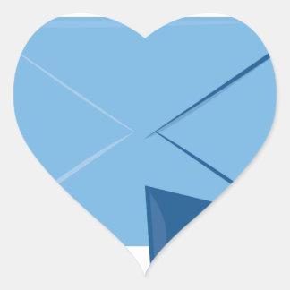 Mailbox Full Heart Sticker