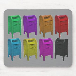 Mailbox POPART Gifts for Postal Workers Mouse Pads